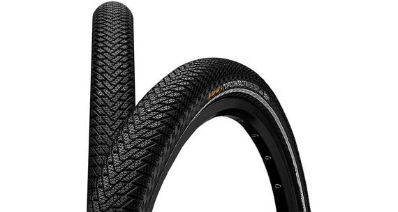 "Continental Top Contact II Winter Premium - Cubiertas - Vectran Breaker 27,5"" Plegable Reflex negro"